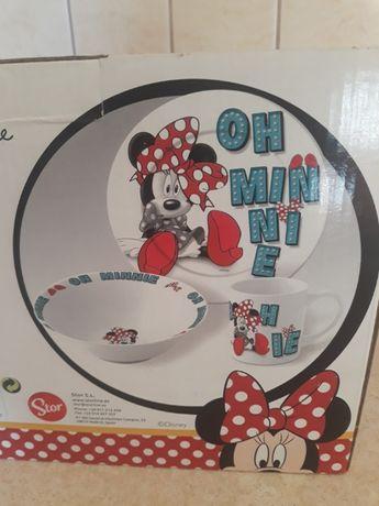 Zestaw śniadaniowy Minnie