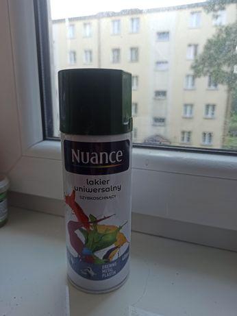 Nowy spray - butelkowa zieleń