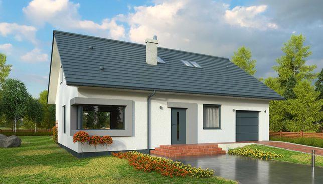 Dom z keramzytu - nawet w dwa miesiące, projekt domu gratis! Leszno
