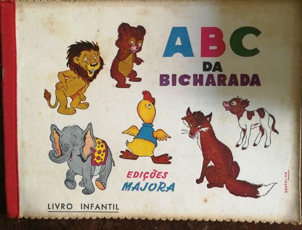 abc da bicharada, edições majora, livro infantil