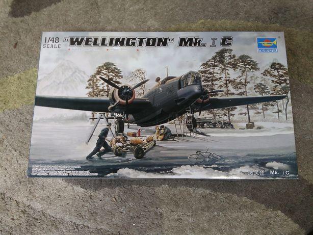 Model do sklejania Trumpeter 02808 WELLINGTON Mk.1C skala 1:48