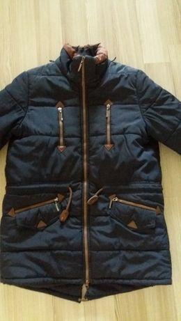 Зимняя подростковая куртка