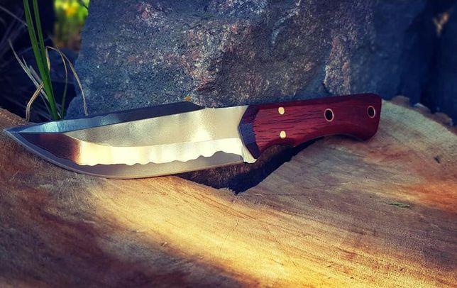 Нож кованый ,ручная работа -ламинат .
