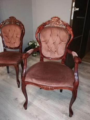 Sprzedam krzesła ludwikowskie