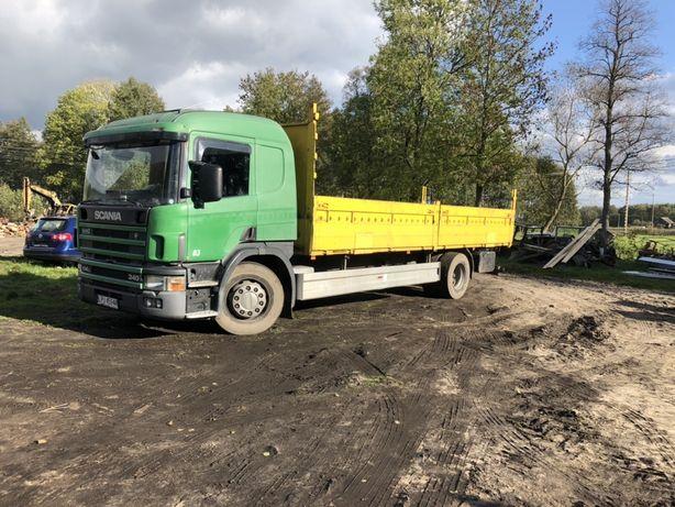 Transprt solowka 7,5 m maszyny rolnicze drewno materialy