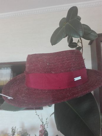 Letni męski kapelusz Seeberger M Krk Nowy z Niemiec z metką