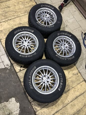 275/60/17   5/112 Mercedes