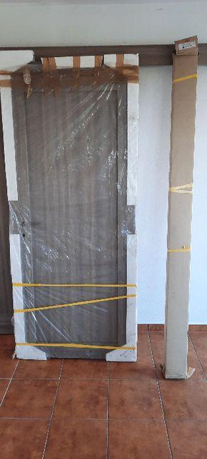 Drzwi wewnętrzne Invado Domino 80L plus ościeżnica