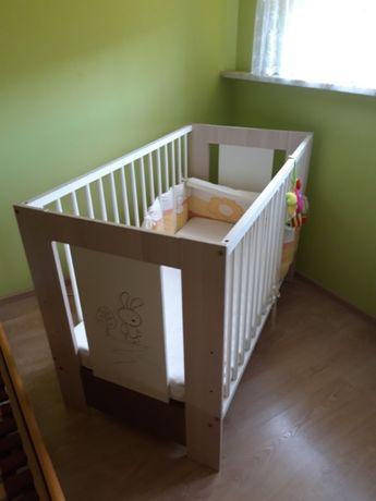 łóżeczko i komoda dla dziecka