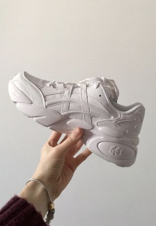 Buty sneakersy ASICS GEL-BND white/white 24,5cm