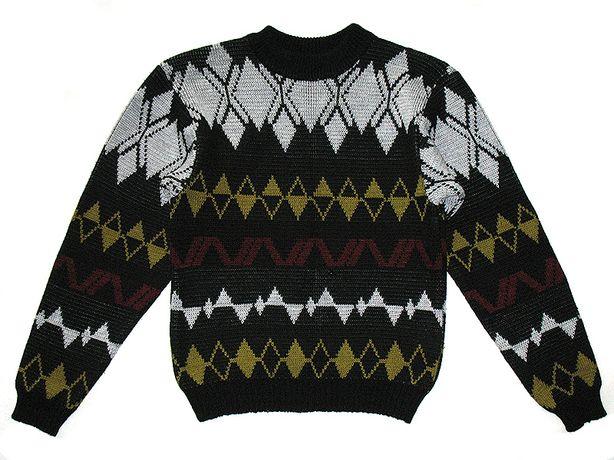 Свитер на мальчика р. 38/140 кофта зимняя джемпер пуловер шерстяной