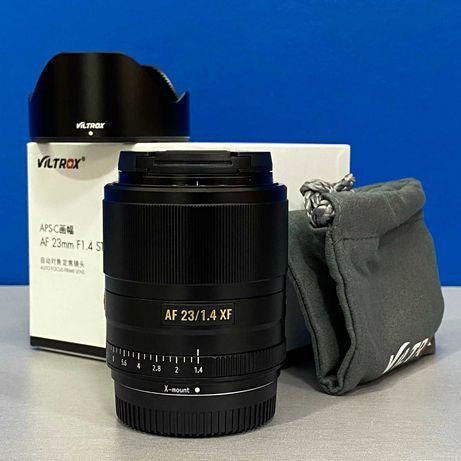 Viltrox AF 23mm f/1.4 STM ED IF (Fujifilm) - NOVA - 2 ANOS DE GARANTIA
