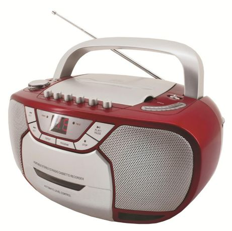 Boombox - radio i kaseta