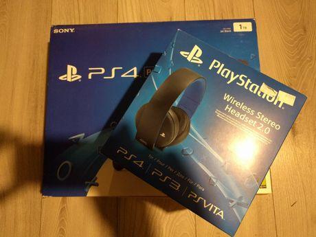 PS4 PRO 1TB kontroler gry plus gratis