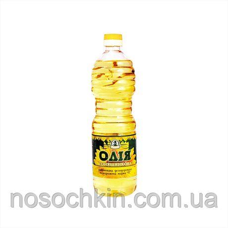 Подсолнечное масло рафинированное, дезодорированное 870 мл.
