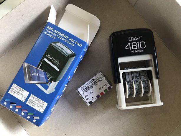 Датер Graff 4810 мини ( клише, штамп, печать )