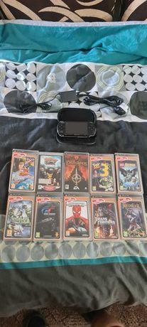 Sony PSP+ 10 GIER+Karta pamięci