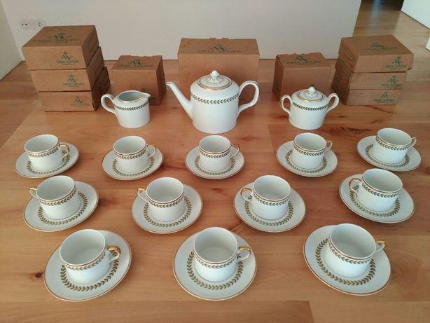 Serviço de chá Vista Alegre Maria - NOVO