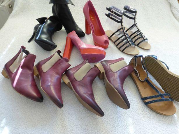 Обувь одним лотом. Кожа ,производитель Германия.