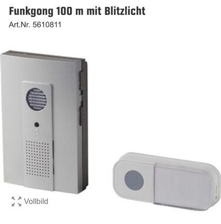 Звонок с дистанционной кнопкой из Германии
