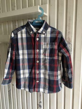 Koszula w kratę Oshkosh 98 cm