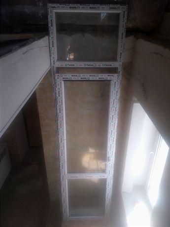 Двері металопластік