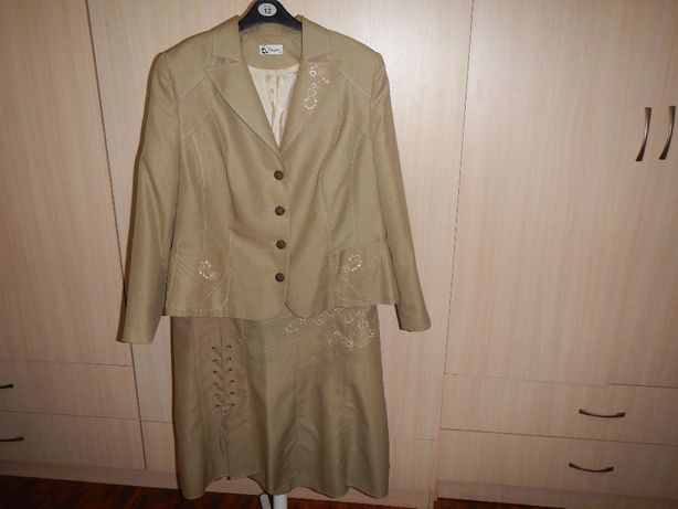 Костюм. пиджак и юбка panda p.60