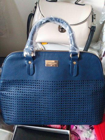 Синя сумка