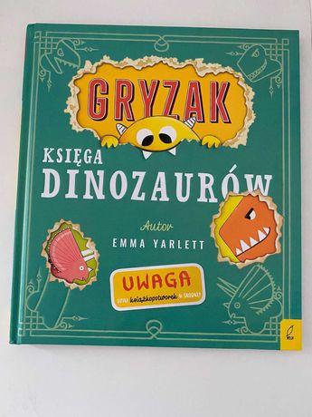 NOWA książka Gryzak Księga Dinozaurów - Emma Yarlett WILGA