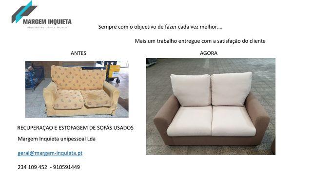 Restauração de sofás e cadeiras
