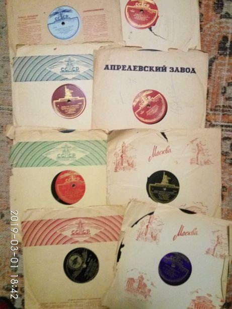Продаю в Луганске пластинки советские 60-80-х годов