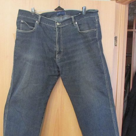 Модные джинсы на крупного мужчину