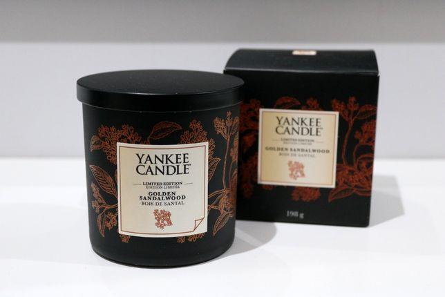 Golden Sandalwood Yankee Candle