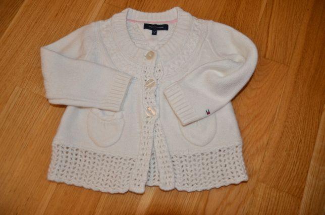 Sweterek Tommy Hilfiger-dziewczynka