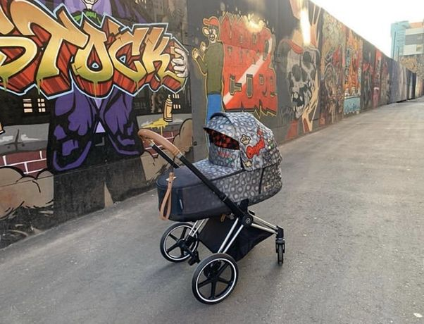 Отправка СРАЗУ! Cybex Priam Lux rebellious, koi 2.0 коляска люлька