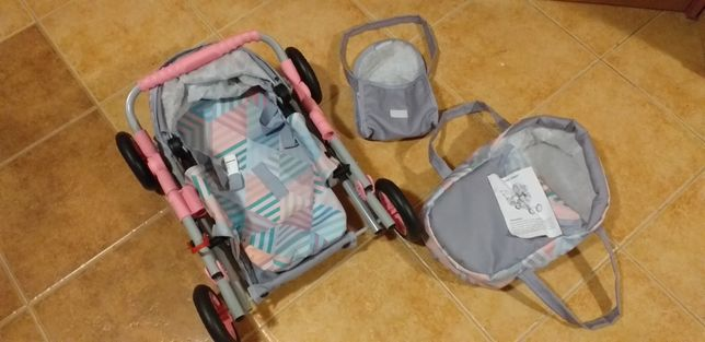 NOWY wózek 3w1. Gondola,spacerowy,nosidełko