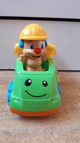 Fisher-Price, Wywrotka Szczeniaczka Uczniaczka, zabawka interaktywna