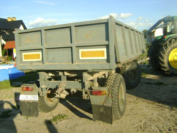Przyczepa rolnicza IFA HL 80.11 wywrotka burty uchylne