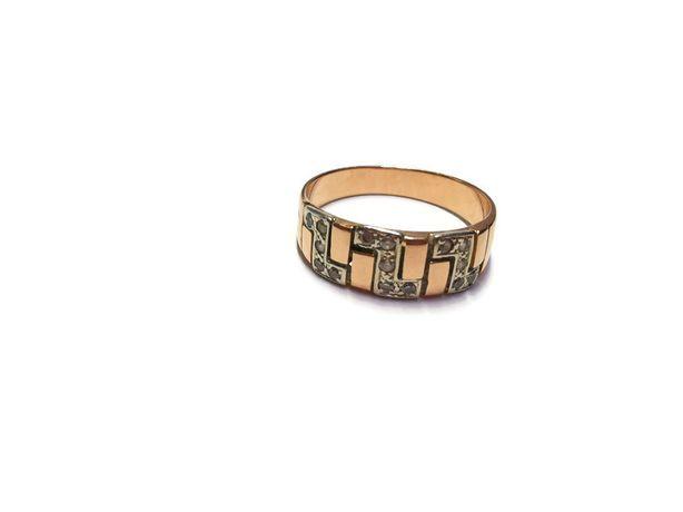 Wyrób jubilerski używany- złoty pierścionek 585/4,27G