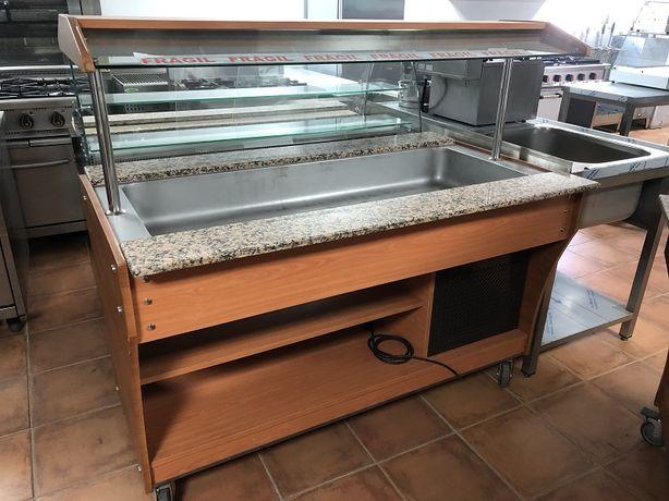 Elemento Refrigerado buffet de 4 GN