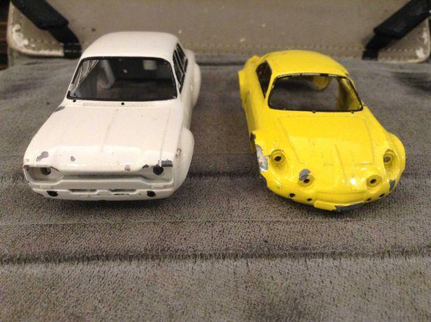 Ford Escort Mk1 rs2000  e Renault Alpine - Carroçaria miniaturas 1:43