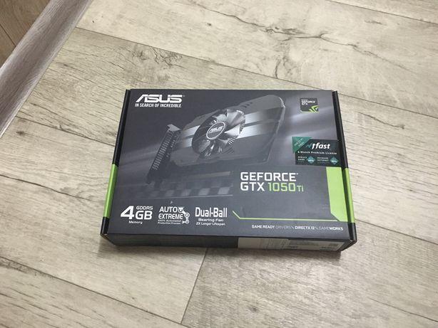 Видеокарта Nvidia Geforce GTX 1050 Ti НА ОФИЦИАЛЬНОЙ ГАРАНТИИ (уехала)