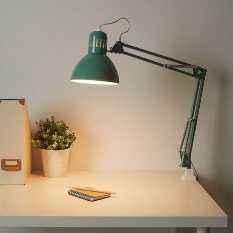 В НАЛИЧИИ Настольная лампа Ikea Tertial Икеа Терциал синяя серая белая