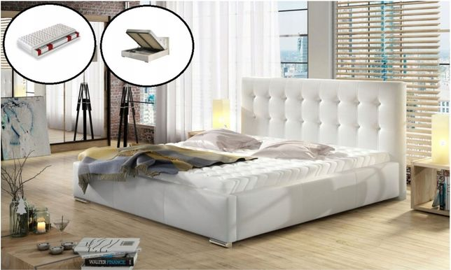 łóżko 160x200,180x200,200x200 nowe z materacem!