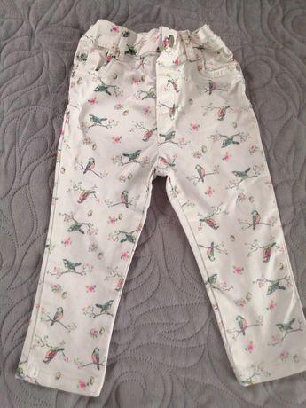 Spodnie Carter's wiosenne, jeansowe.