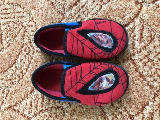 mothercare фирма тапки , тапочки человек паук