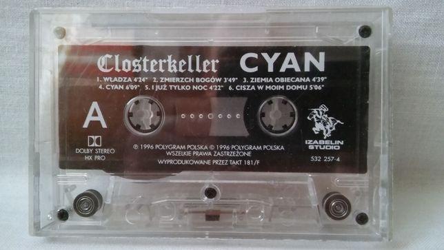 Kaseta magnetofonowa Closterkeller Cyan