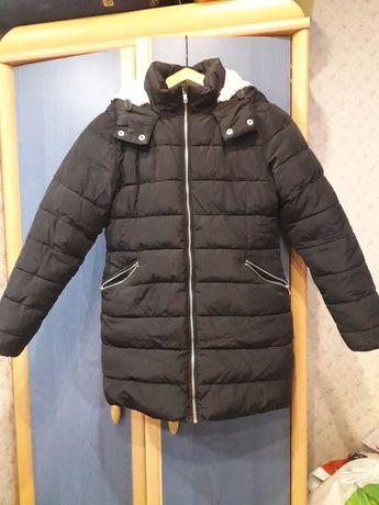 Куртка (пальто) Next зимняя 146 см