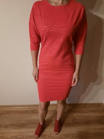 Czerwona sukienka Quiosque r. 36