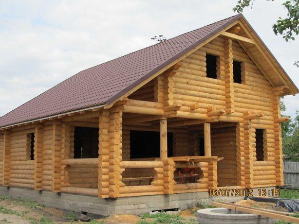 Изготовление домов, бань, беседок со сруба или профилированного бруса
